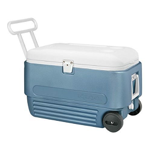 Igloo MaxCold 60 Roller Cooler (60-Quart, Icy Blue) (Igloo Icy Cooler compare prices)
