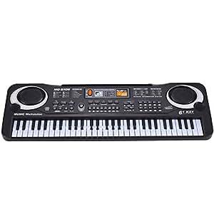 ELEAR® Black 61 Keys Music Electronic Keyboard