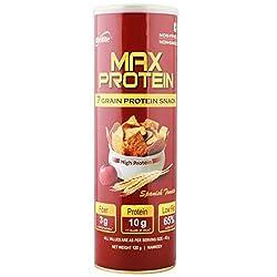 Rite Bite Max Protein Chips, Spanish Tomato, Pack of 9- 120g