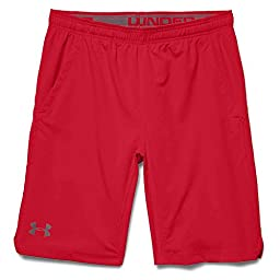 Under Armour Hiit Woven Short - Men\'s Red / Red / Graphite Medium
