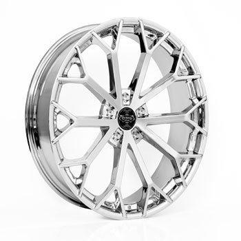 Versante Wheels Ve229 22x9.5 Chrome Dodge Challenger