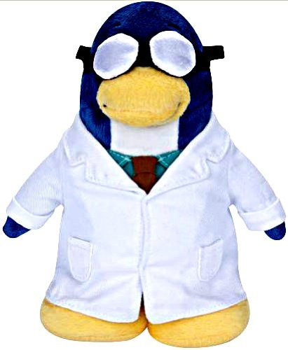 Buy Low Price Jakks Pacific Disney Club Penguin 6.5 Inch Series 5 Plush Figure Gary the Gadget Guy (Includes Coin with Code!) (B002W3FZFI)