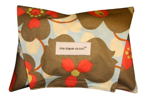 The Diaper Clutch Diaper and Wipe Case - Morning Glory