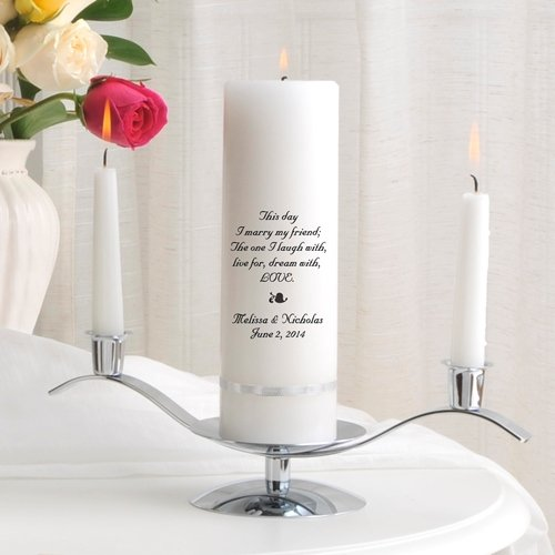 41 Unique Wedding Gift Ideas For Bride And Groom In 2020: Top 5 Best Personalized Unity Candle Set For Weddings For