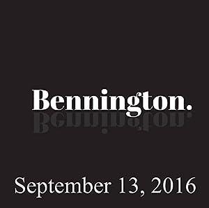 Bennington, September 13, 2016 Radio/TV Program