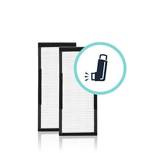 Alen - HEPA-Silver Filters for Alen T100 and T300 Air Purifiers (2-Pack) - White TF30-SILVER