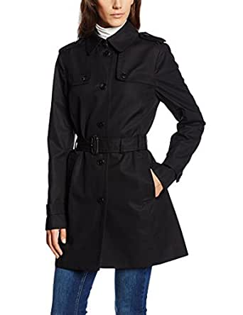 tommy hilfiger women 39 s trench coat button down long sleeve. Black Bedroom Furniture Sets. Home Design Ideas