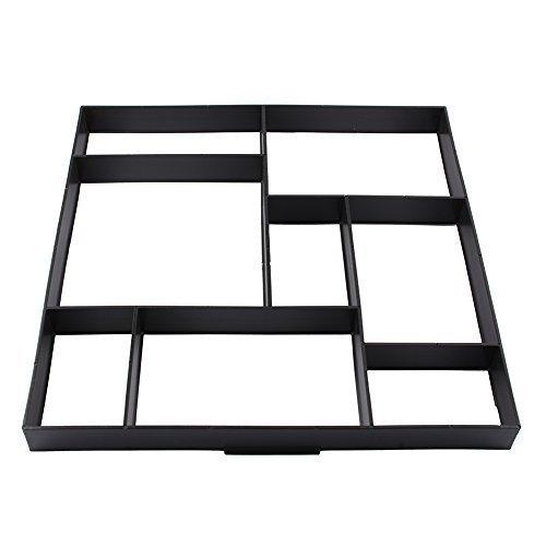 yosoo-molde-para-hacer-ladrillos-de-forma-manual-ideal-para-hacer-caminos-en-el-jardin-color-negro