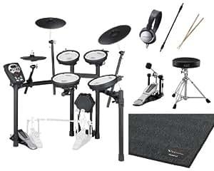 【純正マット + DAP-3X等付7点セット】Roland/ローランド TD-11KV-S V-Drums V-Compact Series