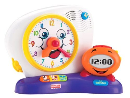 Fisher-Price Fun-2-Learn Teaching Clock - 1