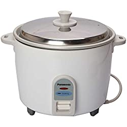 Panasonic SR-WA10 E 450-Watt Automatic Rice Cooker (White)
