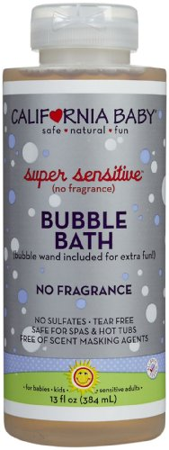 California Baby Bubble Bath - Super Sensitive - 13 oz