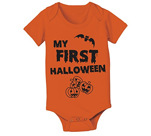 My First Halloween Infant Baby One Piece