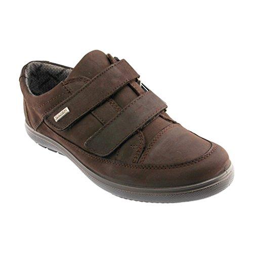 Semi JOMOS 807808 14 370 - Sympatex scarpe da donna in acciaio inox a forma di scarpa, Marrone (marrone), 42 eu