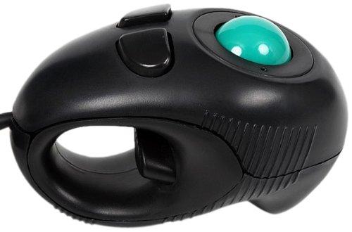 Groovy トラックボール式親指マウス ブラック GM-TB001B