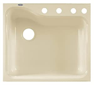 American Standard Silhouette Single Bowl Kitchen Sink With 4 Hole Tile