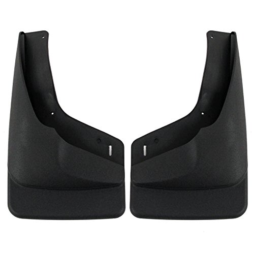 1999-2007 Chevy Silverado & GMC Sierra Mud Flaps Guards Splash (With OEM Flares) Front Molded 2 Piece Set (Mud Flap For 2004 Chevy Truck compare prices)