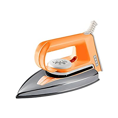 Usha Light Weight EI 2102 1000-Watt Electric Dry Iron (ORANGE)