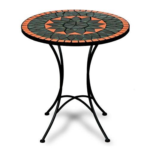 Mosaiktisch-Terracotta-Bistrotisch-Mosaik-Bistro-Beistelltisch-Gartentisch