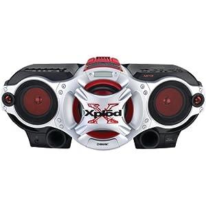 SONY CFDG700CP XPLOD CD RADIO CASSETTE RECORDER BOOM BOX