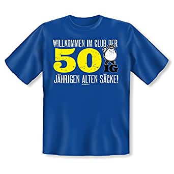 Geschenk zum 50. Geburtstag - lustiges Geburtstagssprüche T-Shirt 50 ...