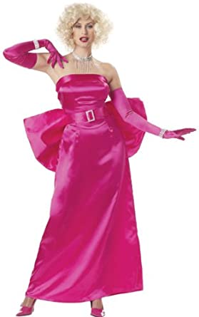 Marilyn Monroe Costume Dress - Gentlemen Prefer Blondes - Small