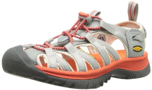keen-womens-whisper-neutral-gray-spicy-orange-a-narrow-version-of-the-orignal-sandal-with-toe-bumper