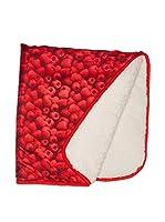 Pitter Patter Baby Gifts Manta (Rojo)