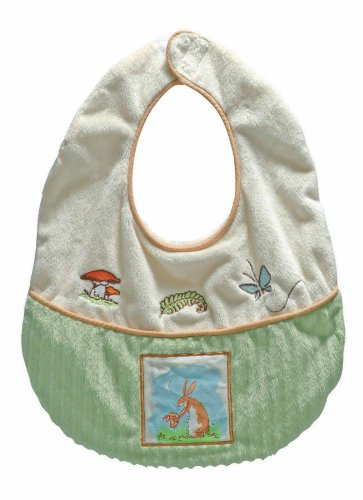 """Guess How Much I Love You Rabbit and Bunny Baby Bib, , 11X13"""""""