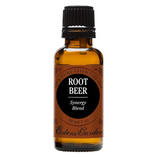 Root Beer Synergy Blend Essential Oil by Edens Garden (Black Pepper, Camphor, Lemongrass, Peppermint, Vetiver and Wintergreen)- 30 ml