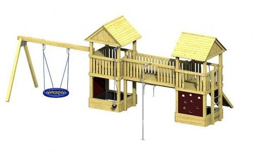 Spielturm Winnetoo Pro Variation 8 – öffentliche Spielanlagen jetzt bestellen