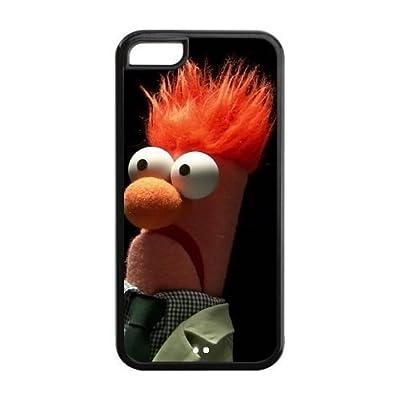 Beaker Muppets Legend Iphone 5C Personalized design Best Rubber+PVC Case Including Dust Plug