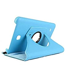 Best Deals - Samsung Galaxy Tab4 8 inch T330/T331 Rotatable Flip Stand Cover Case - Blue