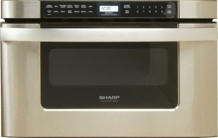 Sharp KB-6524PS 24-Inch Microwave Drawer Oven, Stainless (Sharp Microwave Button compare prices)