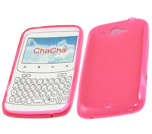 iTALKonline ProGel PINK Super Hydro Gel Protective Armour/Case/Skin/Cover/Shell for HTC Cha Cha ChaCha