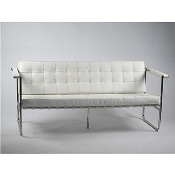 Fine Mod Imports Celona Sofa, White