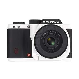 Pentax K-01 16MP APS-C CMOS Mirrorless Digital Camera Kit with DA 40mm Lens (White)