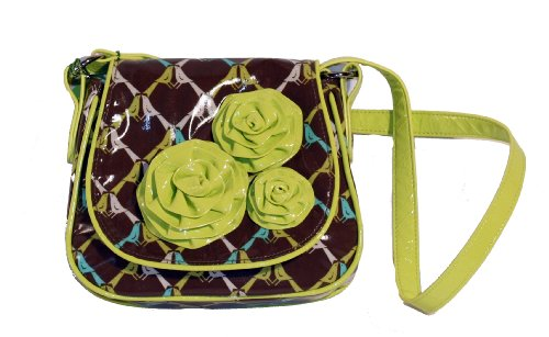 Vera Bradley Frill Collection - Rosie Posie Hipster Bag in Sittin in a Tree