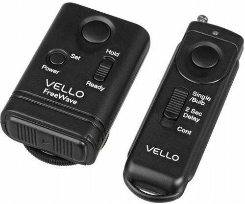 Vello FreeWave Wireless Remote Shutter Release for Canon w/3-Pin Connection. Compatibility Canon EOS: 10D, 20D, 30D, 40D, 50D, 5D, 5D Mark II, 7D, 1D, 1Ds, 1Ds Mark1, 1DS Mark II, 1Ds Mark III, and 1Ds Mark IV