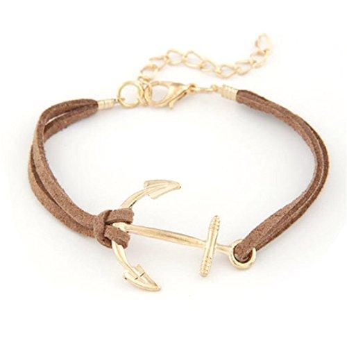 switchali-femmes-hommes-retro-alliage-anchor-corde-tressee-bracelet-bijoux-gold-charm-marron
