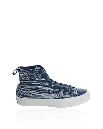 Converse Sneaker Alta Ct Missoni Hi Crown [Blu]