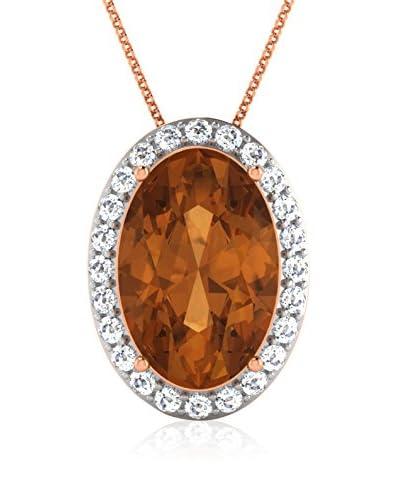 Art Of Diamond Collana Citrine Rose Gold