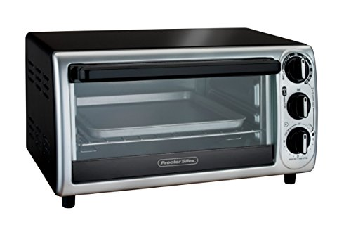 Z&F ADJUSTABLE Modern Toaster Oven WITH TIMER & AUTO-SHUTOFF TOAST, BAKE, BROIL (Toaster Oven Proctor Silex Broil compare prices)