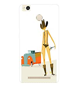EPICCASE Cow Boy Cases Mobile Back Case Cover For Xiaomi Redmi 3S (Designer Case)