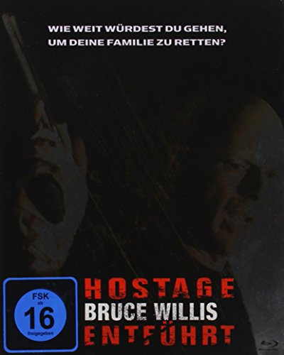 Hostage - Entführt - Steeledition [Blu-ray]