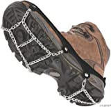ICETrekkers Shoe Chains, Medium (Mens 6.5-9/Womens 7.5-10), Black