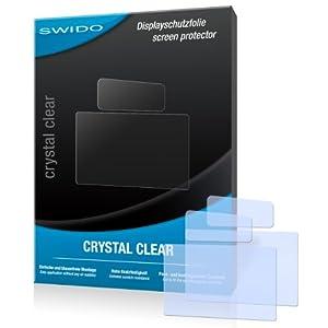 SWIDO Y024303 kristallklar hartbeschichtet Displayschutzfolie für Canon EOS 70D/70-D (2-er Pack)