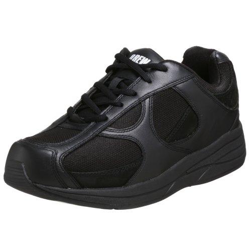 Drew Shoes Men's Surge Walking Shoe,Black,12.5 4E US