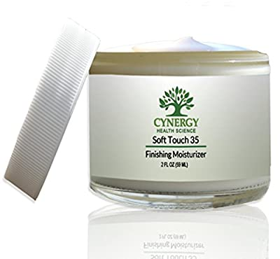 Cynergy Health Science Daily Facial Moisturizer Cream - Organic Face Lotion for Softening and Repairing Damaged Skin - Anti-Aging & Anti-Wrinkle