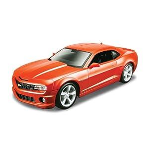 Maisto Maquette de voiture Chevrolet Camaro SS RS Orange